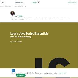Learn JavaScript: – JavaScript Scene – Medium