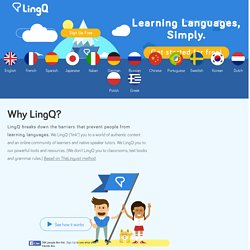 LingQ - The future of language learning
