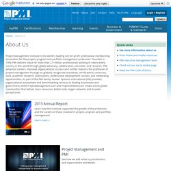 Learn More About Who PMI is and What We Do