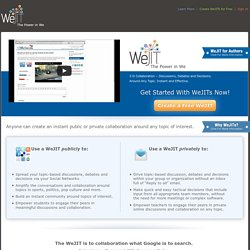 WeJIT – The Power in We