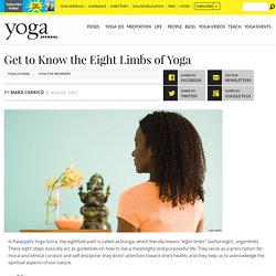 Learn the Eight Limbs of Yoga