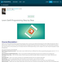 Learn Swift Programming Step by Step: vernonemrit