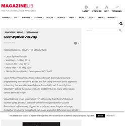 Learn Python Visually PDF download free