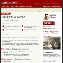 Designing with Agile