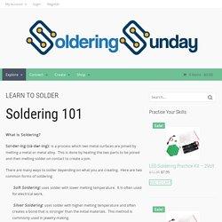 Soldering Sunday
