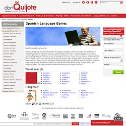 Free Spanish Language Games