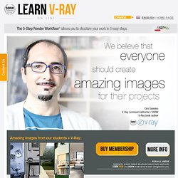 Subscribe for 1 year and get the 5SRW Certification for V-Ray