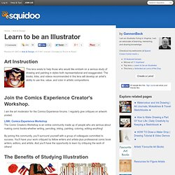 Learn to be an Illustrator