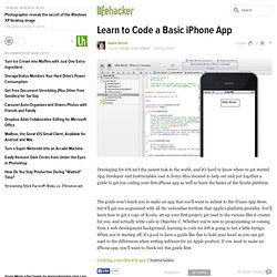 Learn to Code a Basic iPhone App