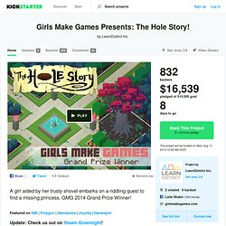 Girls Make Games Presents: The Hole Story! by LearnDistrict Inc.