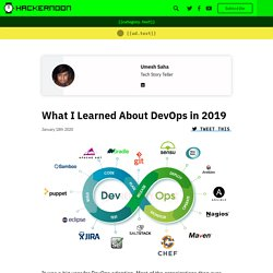 What I Learned About DevOps in 2019 - By Umesh Saha