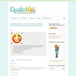 LearnEnjoy Basics 1 : un manuel pour les enfants atteints d'autisme ou de handicap cognitif (iPad)