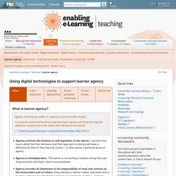 Learner agency / Teaching