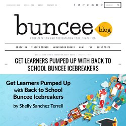 Get Learners Pumped Up with Back to School Buncee Icebreakers - Buncee Blog