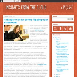 LearnersCloud Blog: 4 things to know before flipping your classroom