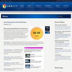 Learning about the Weather - 123ICT 123ICT