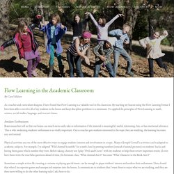 Flow Learning in Academic Classroom