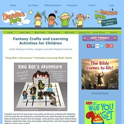 Fantasy Crafts and Learning Activities for Children