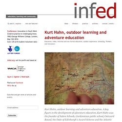 Kurt Hahn and informal education