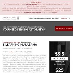 E-learning in Alabama