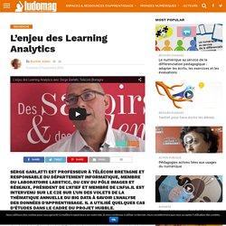L'enjeu des Learning Analytics – Ludovia Magazine