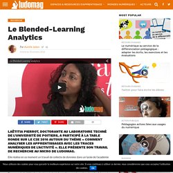 Le Blended-Learning Analytics – Ludovia Magazine