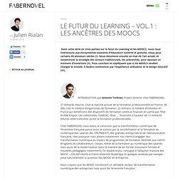 LE FUTUR DU LEARNING – VOL.1 : les ancêtres des MOOCs