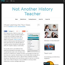Infuse Learning into Your Class