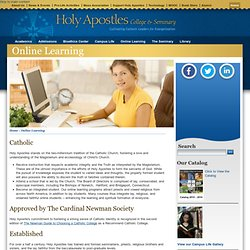 Holy Apostles College & Seminary