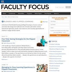 Blended and Flipped Learning Archives - Faculty Focus