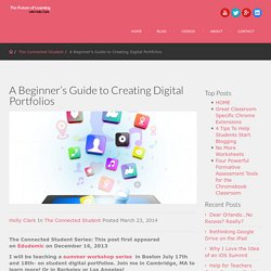 A Beginner's Guide to Creating Digital Portfolios