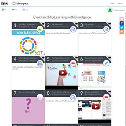 Blend And Flip Learning With Blendspace - Lessons