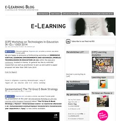 e-Learning Blog