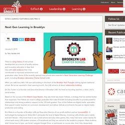 Next Gen Learning in Brooklyn