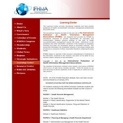 IFHIMA Education Modules