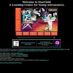 StarChild: A Learning Center for Young Astronomers