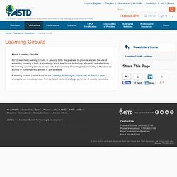 Learning Circuits - ASTD