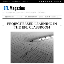 Project-Based Learning in the EFL Classroom