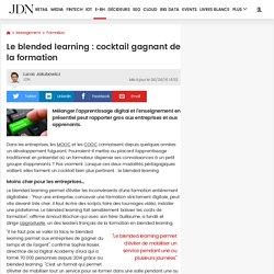 Le blended learning : cocktail gagnant de la formation