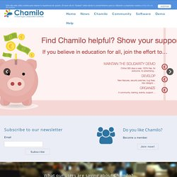 www.chamilo.org | open source e-learning and collaboration software