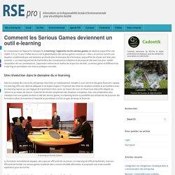 Comment les Serious Games deviennent un outil e-learning
