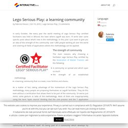 Lego Serious Play: a learning community - Fabrizio Faraco