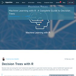 Machine Learning with R: A Complete Guide to Decision Trees - Appsilon