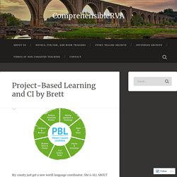 Project-Based Learning and CI by Brett – ComprehensibleRVA