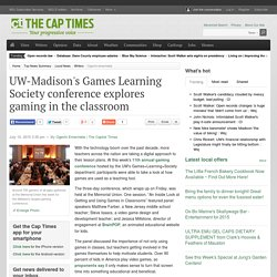 UW-Madison's Games Learning Society conference explores gaming in the classroom