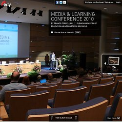 Esmpio: Media & Learning Conf. 2010