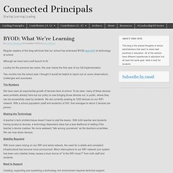 BYOD: What We're Learning