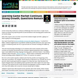 Learning Game Market Continues Strong Growth; Questions Remain