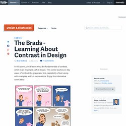 The Brads – Learning About Contrast in Design - Vectortuts+