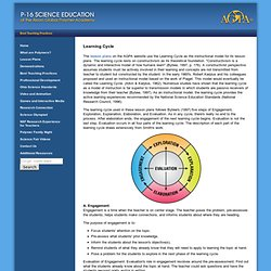 Learning Cycle tuntisuunnitelmia ja LC kompakti esittely
